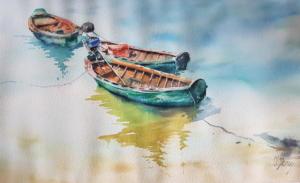 Barques du Vietnam